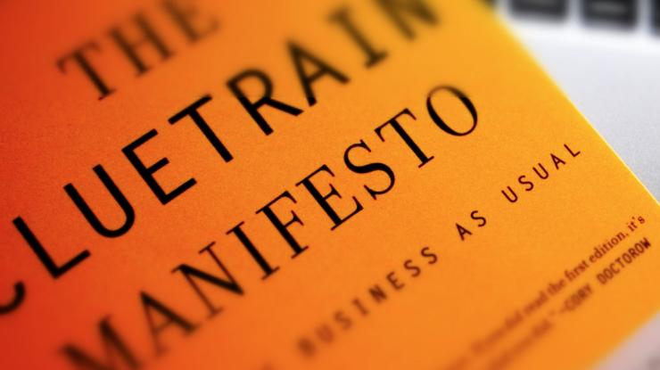Cluetrain manifesto, una dichiarazione d'amore al web libero