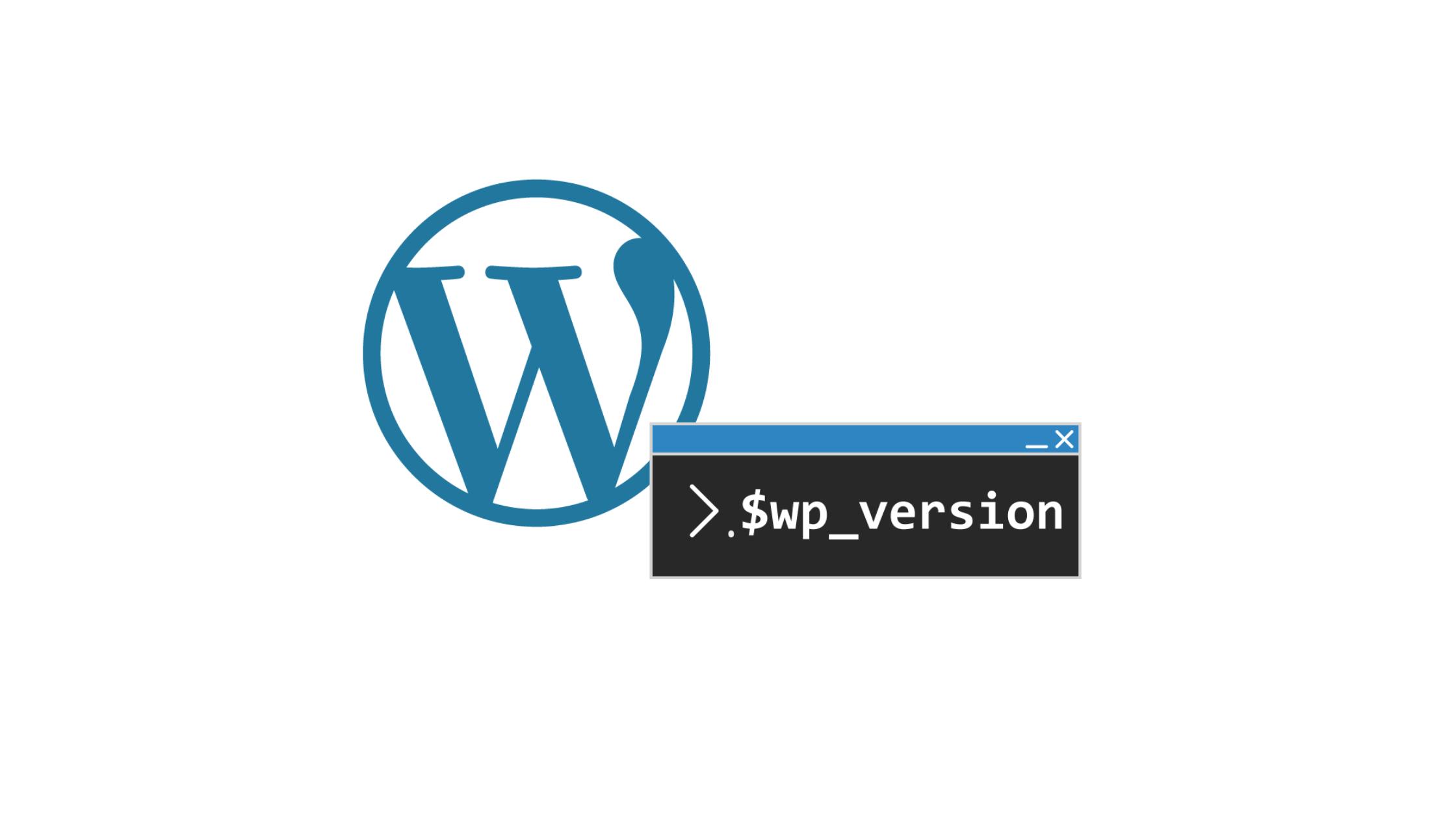 wp-version